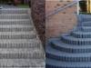 En trappe kan også blive flot efter et besøg af Fliserenseren
